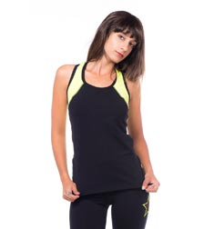 Womens Lined Racer Back Supplex Top