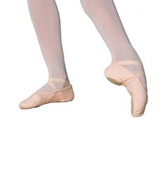 STELLA Elastic Canvas Split-Sole Ballet Shoes