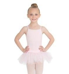 Child Camisole Glittery Ballet Tutu Dress
