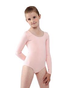 Long Sleeve Dance Leotard for Girls