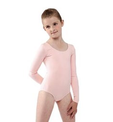 Long Sleeve Dance Leotard for Girls