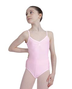 Lycra Camisole Dance Leotard For Girls