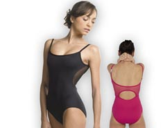 Women Microfiber Camisole Dance Leotard