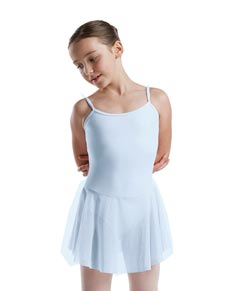 Girls Microfiber Camisole Skirt Ballet Leotard