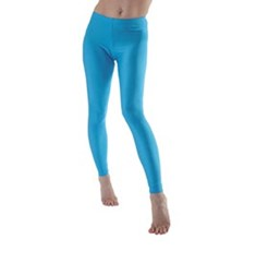 Girls Basic Lycra Dance Leggings