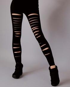 Womens Slash Dance Leggings
