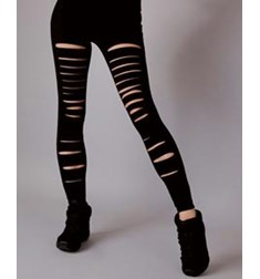 Womens Slash Dance Leggings