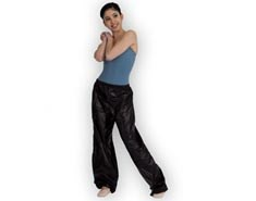 Women Dance Warm Up Pants with Sauna Effect