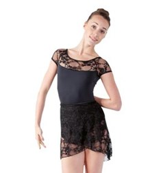 Women Lace Wrap Dance Skirt