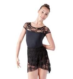 Women Lace Wrap Dance Skirt