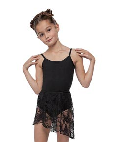 Girls Lace Wrap Dance Skirt