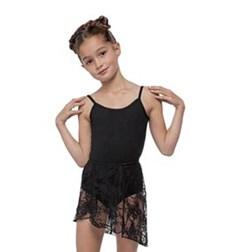Girls Lace Wrap Dance Skirt