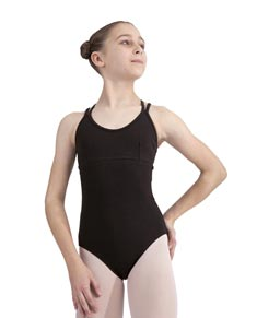 Girls Camisole Double Cross Dance Leotard