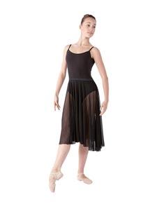 Womens Long Chiffon Ballet Skirt