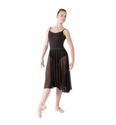 Womens Long Chiffon Ballet Skirt