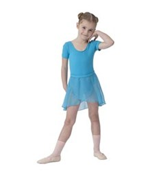Girls Dance Wrap Over Skirt