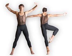 Mens Mesh Dance Unitard