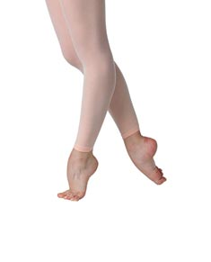 Girls Footless Ballet Tights