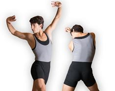 Dance Unitard Shorts for Men