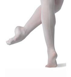 Women Footed Regulation Ballet Tights with Back Seam