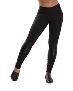 Women Slashed Dance Leggings