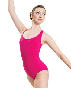 Women Microfiber Tank Dance Leotard