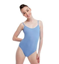 Women Matte Lycra Camisole Dance Leotard