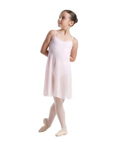Girls Mesh Skirted Dance Leotard