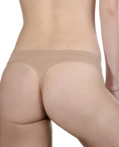 Women Soft Microfiber Dance Thong Panties