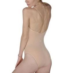 Women Dance Underwear Body With Transparent Straps