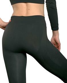 Women Sport Capri without Seam with Postural Effect