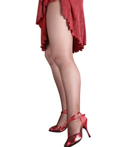 Women Professional Fishnet Seamless Tights with Insole