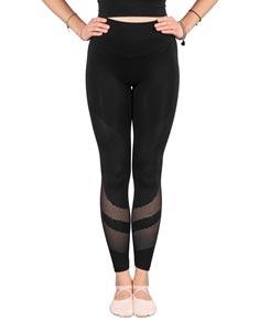 Women Microfiber Mesh Seamless Leggings