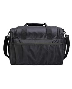 Solid Black Duffel