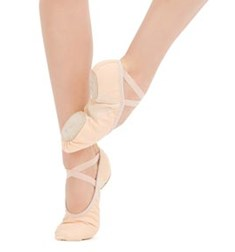 Professional Soft Split Sole Unisex Ballet Shoes