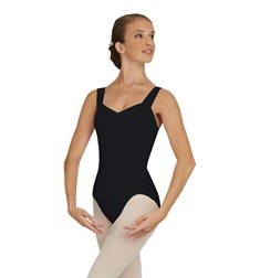 Womens Pinched Front Tank Ballet Leotard