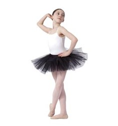 Girls Practice Tulle Ballet Tutu