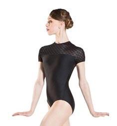 Womens Short Sleeves Dance Leotard VENUS