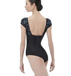 Adult Cap Sleeve Leotard With Open Back SUNSET